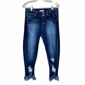 KanCan Signature Midrise Ankle Skinny Jean Size 30